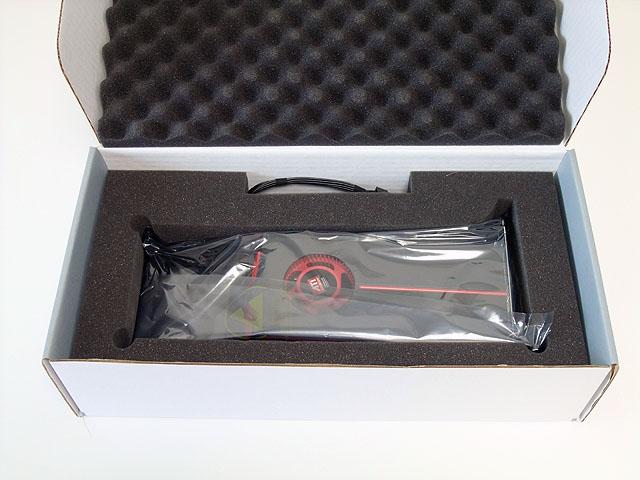 箱を開けます。